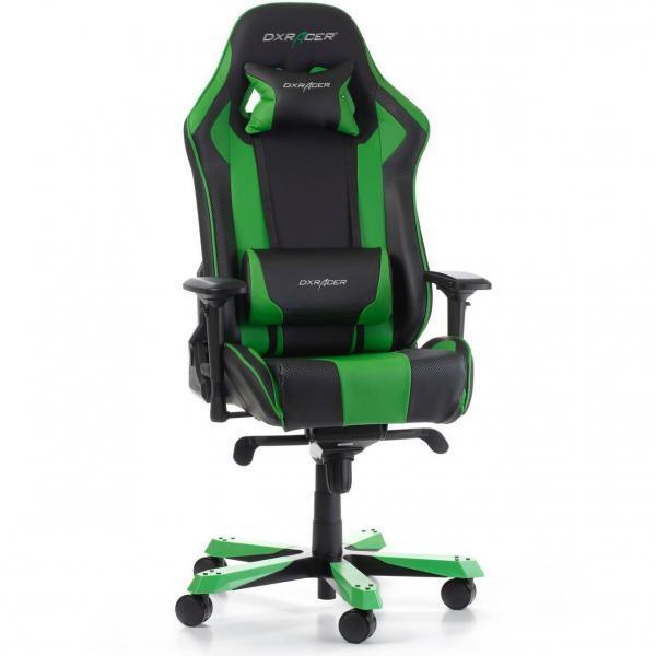 DXRacer King zöld