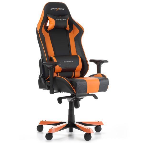 DXRacer King narancssárga
