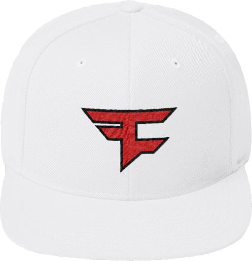 Faze Clan Basic Logo Snapback fehér