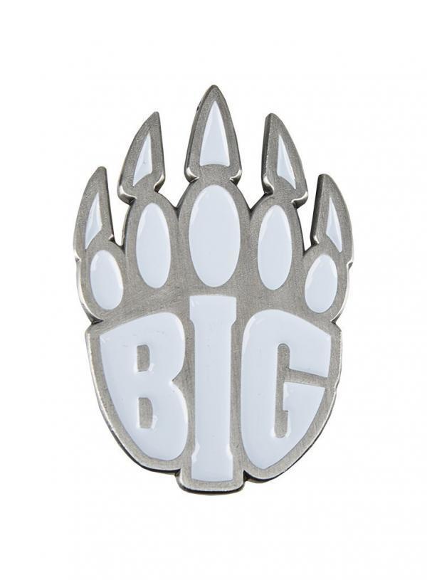 BIG Logo kitűző fehér