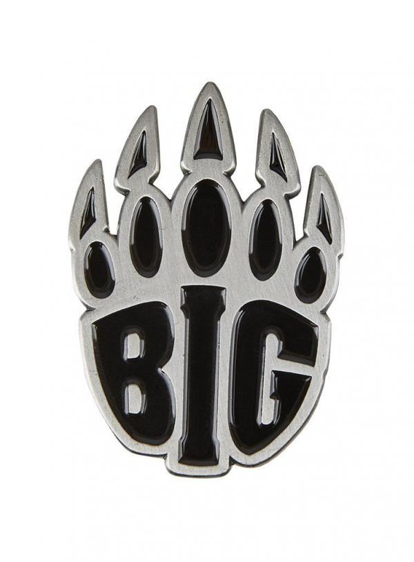 BIG Logo kitűző fekete