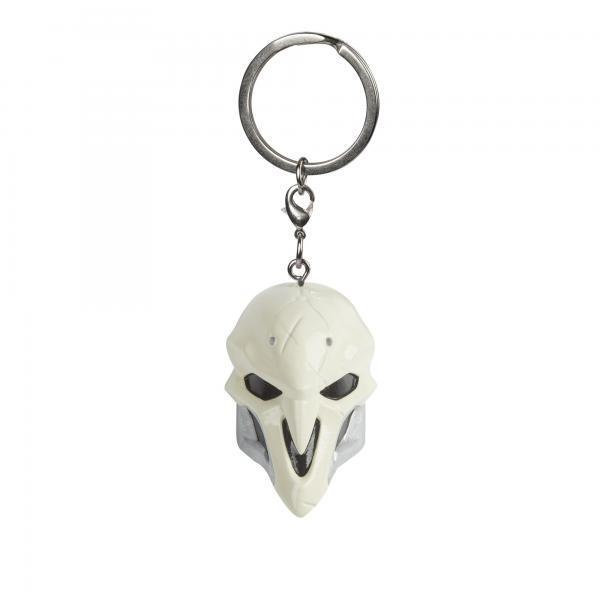 Overwatch Reaper Mask 3D kulcstartó