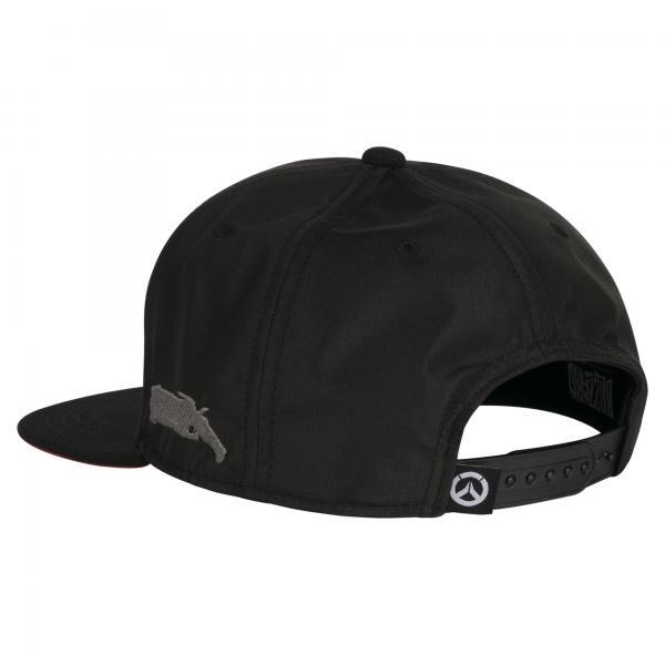 Overwatch Reaper Wraith Snap Back Hat 2