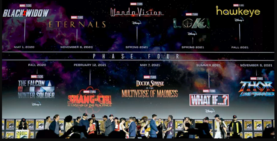 MCU Phase 4 SDCC2019