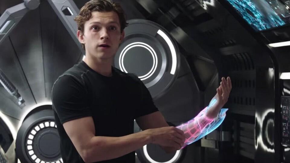 Peter Parker like Iron Man