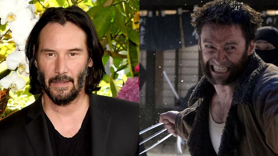 Keanu Reeves - Wolverine