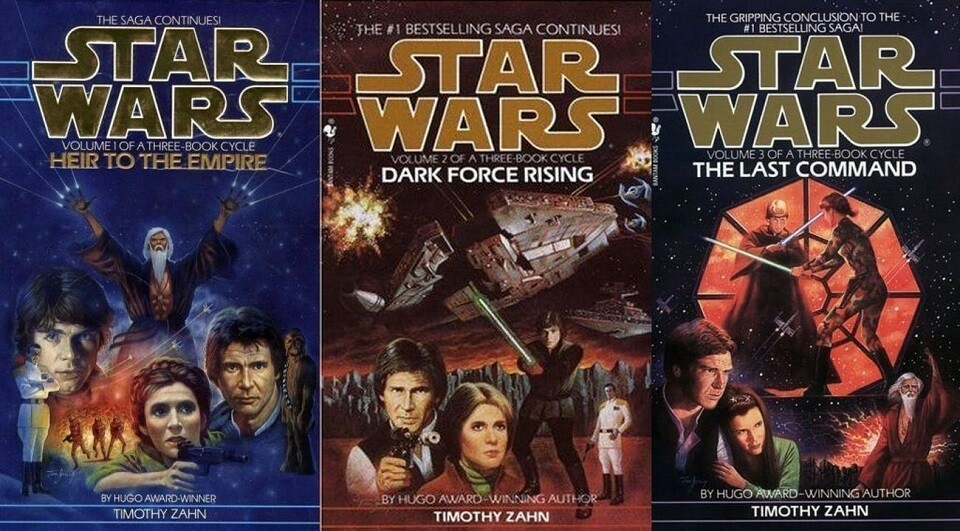Star Wars Thawn trilogy