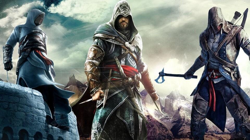 Altair, Ezio, Connor