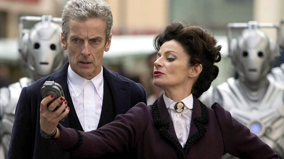 Peter Capaldi & Michelle Gomez Doctor Who